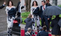 Crown Prince Frederik and Crown Princess Mary of Denmark 5/20/2015