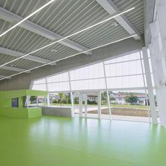 Sporthalle - Zoll-Architekten Stadtplaner GmbH Stem Academy, Planer, Foyer, Community, Outdoor Decor, Home Decor, School, Hs Sports, Architecture