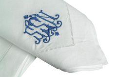 Etienne Embroidered linen