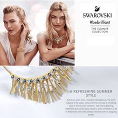 The new #SwarovskiJewelry collection is in just in time to celebrate the long weekend!  #summercollection #longweekend #labourday #swarovski #bebrillant #BobThompsonJewellers #613 #centretown #ottcity  Www.bobthompsonjewellers.com