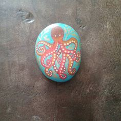 @gilgul.stone.art • Instagram photos and videos...an octopus painted on stone!