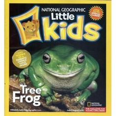 National Geographic for little Kids is a recommended gift from All for the Boys