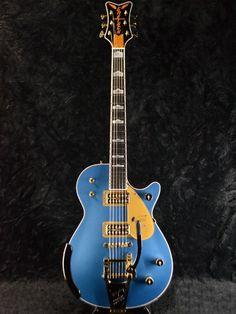 gretsch masterbuilt lake placid blue penguin custom shop electric guitars in 2019 guitar. Black Bedroom Furniture Sets. Home Design Ideas