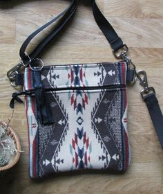 2c91048a17 Grab N Go Essentials Cross Body Bag by HeritageMusic on Etsy Travel Purse