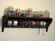 Creative Reflections: Frugal Craft Room Ideas