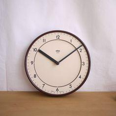ブラウン 掛け時計: BRAUN ABK 20/Type 4780   日常デザインストア