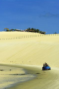 Buggy ride along the Natal Dunes, Natal, Brazil