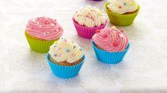 Oppskrift på Cupcakes med kremosttopping, foto: Synøve Dreyer
