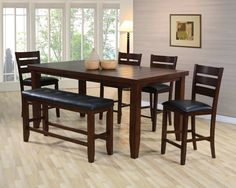Counter Height Dining Sets 5 Piece Consist Of Set With Storage