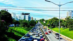 Av. 23 de Maio vista do viaduto Borges Lagoa São Paulo - Brasil