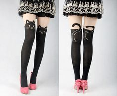 These Cat Tights Are Super Purrrty #IncredibleThings