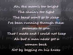 Leonard Cohen : I'm Your Man (with Lyrics) - YouTube