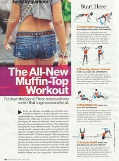 Muffin-Top Workout (great for your back fat, too!)