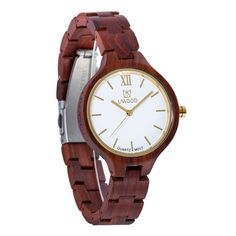Cheap mujer, Buy Quality mujer reloj directly from China mujeres tops Suppliers: 2017 Top Brand Luxury Fshion Wood Watch Women Lightweight Natural Wooden Women Wrist Watch Ladies Quartz-Watch Relojes Mujer Women's Dress Watches, Women's Watches, Luxury Watches, Unique Clocks, Affordable Watches, Branded Gifts, Red Sandals, Wooden Watch, Wooden Case