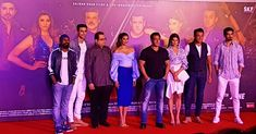 cast with Director and Producer at song launch! Wallpaper Downloads, Hd Wallpaper, Wallpapers, Saqib Saleem, Race 3, 3 Movie, Big Big, Jacqueline Fernandez, Photo Search