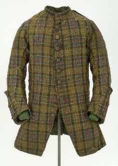 1746 Culloden Coat (most probably; currently in the Kelvingrove Museum & Art Gallery, Glasgow: http://www.scottishtartans.co.uk/Culloden_Tartan.pdf)