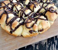 chocolate breakfast rolls