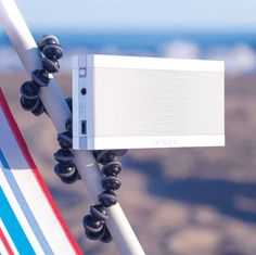 Soen Audio's Transit XS Bluetooth speaker with tripod mount can go pretty much anywhere //