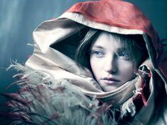 Photographer: Paolo Roversi Model: Vlada Roslyakova
