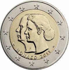 Die 27 Besten Bilder Von Monaco Münzen