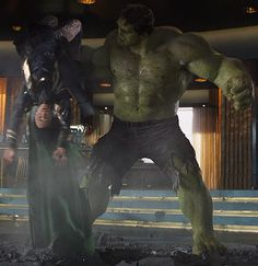 Puny god!    LOVE IT...one of my favorite parts of the movie!!!!
