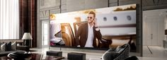 C Seed Teams up with Porsche Design on the Largest 4K Widescreen TV Ever | American Luxury