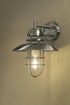 Vägglykta Sorrento Rostfritt stål - Vägglampor - Ute LampLagret