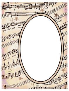 ArtbyJean - Vintage Sheet Music: ---SCRAPBOOK LAYOUT PAGES
