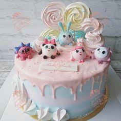 Картинки по запросу малышарики торт