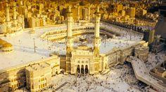 Animation of al-Masjid al-Haram Masjid Haram, Madina, Saudi Arabia, Islamic Art, Paris Skyline, Religion, To Go, Animation, Places