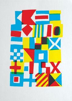 international maritime signal flags by Cyrus Highsmith