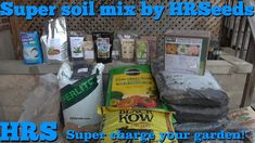 In this video i will show an in depth look on how to make super soil. HRS super soil mix is a custom blend for maximum plant health! Buy Seeds, Pepper Plants, Plant Health, Gardening Tips, Videos, Watch Video, How To Make, Simple, Youtube