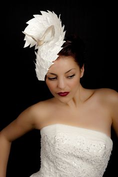 Can't find the perfect Hat? A Bespoke Vivien Sheriff hat will complete your outfit and make you feel fabulous on your special day.