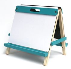 Childrens Tabletop Easel - http://easelsforkids.com/art-alternatives-childrens-tabletop-easel/