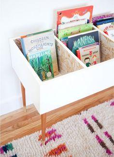 Book storage ideas for a children's room