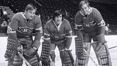 - Montreal goalies Phil Myre (# Rogie Vachon (# and Ken Dryden (# Kings Hockey, Women's Hockey, Hockey Players, Hockey Room, Funny Hockey, Hockey Cards, Baseball, Montreal Canadiens, Ken Dryden