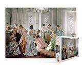 Vogue Charles James Ball Gowns Jigsaw Puzzle by Cecil Beaton