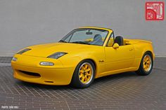club sport yellow mazda miata - Google Search