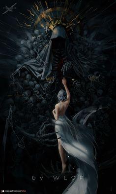 Fantasy Art Women, Beautiful Fantasy Art, Dark Fantasy Art, Fantasy Girl, Fantasy Artwork, Dark Art, Fantasy Princess, Ice Princess, Arte Digital Fantasy