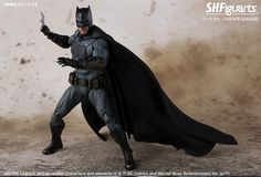 Check out the #Batman S.H. Figuarts collectible figure from Justice League Read More ➤ http://back.ly/BrBAT