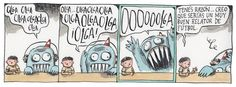 Martín y Olga - Liniers Peanuts Comics, Humor, Funny, Painting, Illustrations, Comics, Be Nice, Paintings, Art
