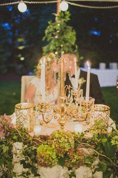 Bride & Groom table Photo By Ashley Caroline Photography