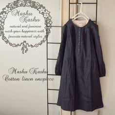 Mashu Kashu cotton linen onepiece