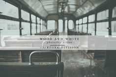 Wood & White Photoshop Action by The Roark Division on @creativework247