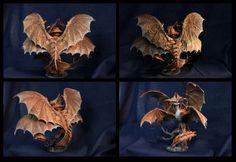 Cloudjumper Dragon Sculpture HTTYD 2 figurine by DemiurgusDreams
