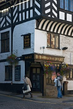 Ye Olde Kings Head - Historical Pub, Lower Bridge St., Chester, England by Dmitry Shakin, via Flickr