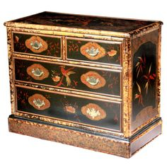 Bamboo Chest of Drawers - England 1880