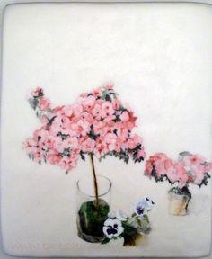 Tarta cuadro Maria moreno, Azaleas 1996