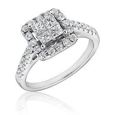 Diamond Engagement Ring 1ctw   Shop REEDS Jewelers