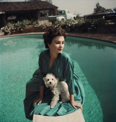 celebs with their dogs   Photos: Celebrities and their Dogs (1925-1970)   Orvis News